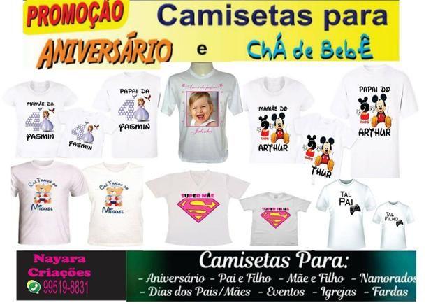 Camisetas Personalizadas - Arte Grátis - Foto 6