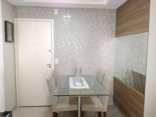 Excelente apartamento 2 Quartos com suíte montado e decorado - Foto 4