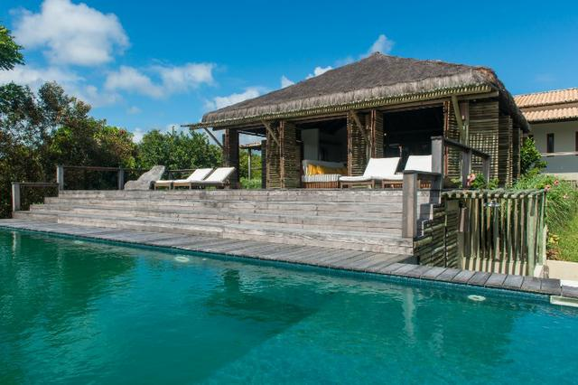 Casa de luxo 5 suites e wi-fi. 100 km de praia do Forte. Vista Paradisiaca - Foto 3