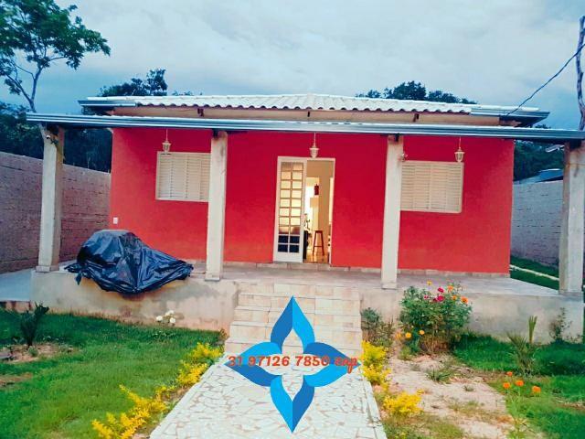 Lindo sítio barato piscina casa colonial 3qts pomar produzindo mil m2 murado canil - Foto 3