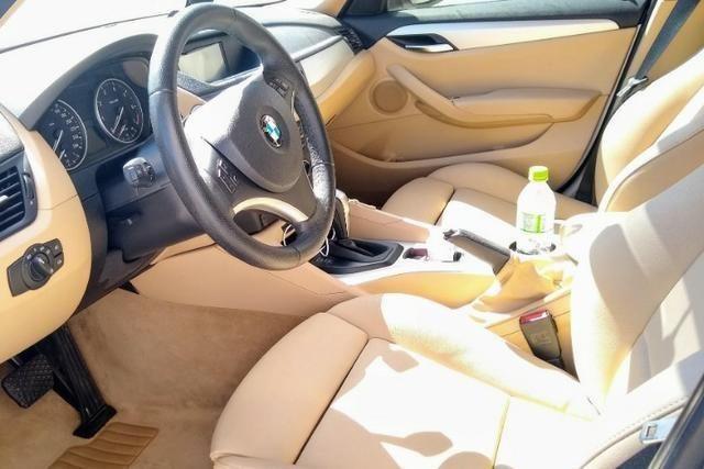 Linda Bmw X1 2.0 16V 2012 Top Branca (interior caramelo) - Foto 10
