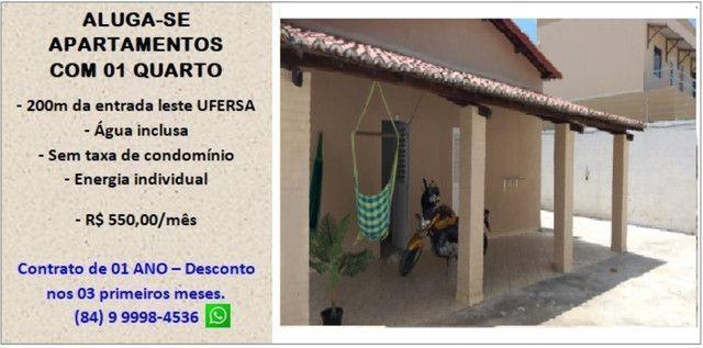Aluga-se apartamentos próximo a Ufersa - Costa e Silva Mossoró - Foto 7