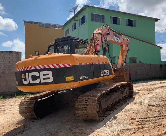 Vendo escavadeira hidráulica Jcb - Foto 4