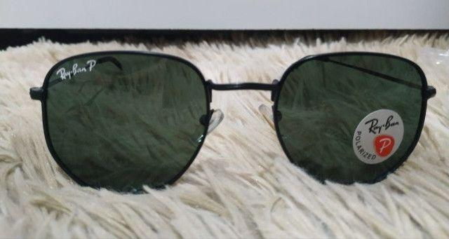 Óculos de Sol Ray Ban Polarizado - Foto 2