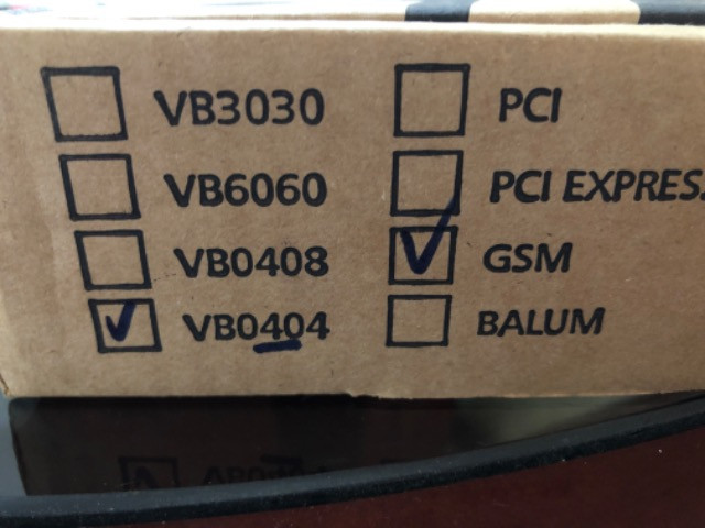 Placa interface GSM, Modelo VB0404 - Foto 4