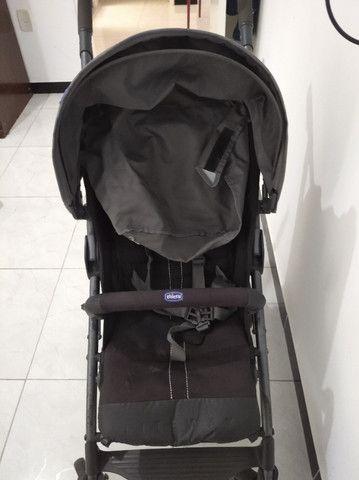 Carro Bebê Desmontável CHIcco Liteway com Guarda Chuva - Foto 2