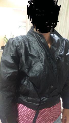 Jaqueta de couro motociclista 2 peças R$ 120,00 cada - Foto 4