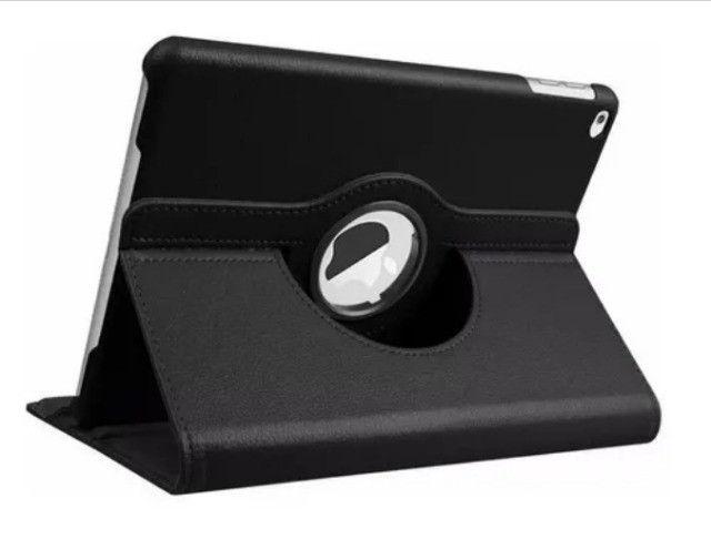 Capa Case Couro Executivo Giratória 360 iPad 2/3/4 - Foto 2