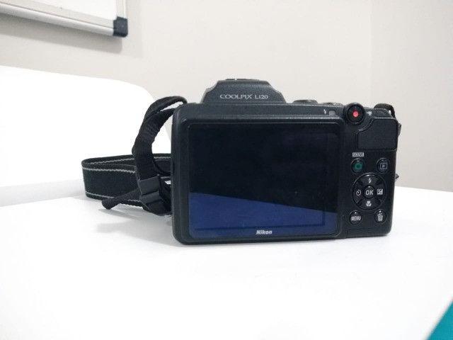 Câmera Nikon Coolpix L120 - Foto 2