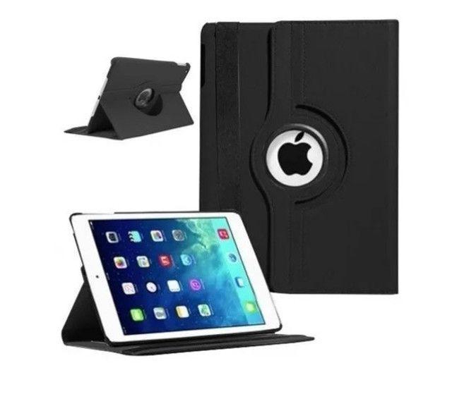 Capa Case Couro Executivo Giratória 360 iPad 2/3/4