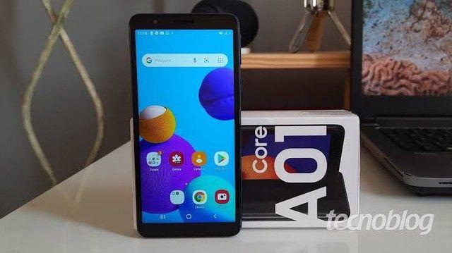 Samsung A01 core novo na caixa