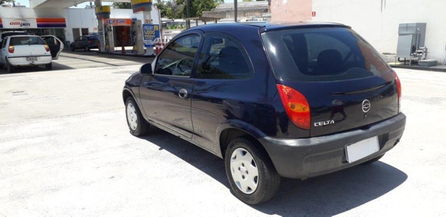 Chevrolet Celta 1.0 8V 2004 Azul Confira ! - Foto 4