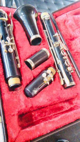 Clarinete com boquilha Vandoren - Foto 2