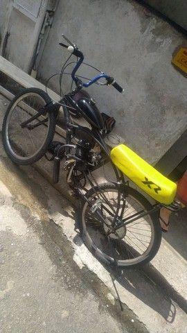 Bicicleta motorizada80cc - Foto 4