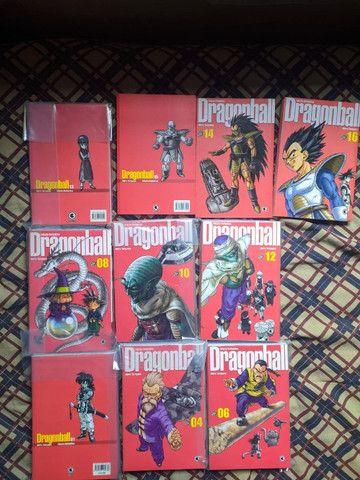 Coleção Completa Mangá Dragon Ball Edição Definitiva (Conrad - Capa Vermelha)