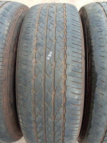 Jogo Pneus Sem Rodas Aro 17 Honda Crv 2011  - Foto 5