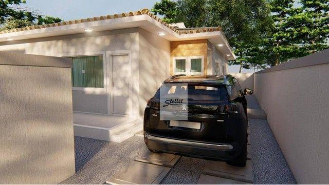 Excelente casa linear com 3 dormitórios à venda, 70 m² por R$ 310.000 - Enseada das Gaivot - Foto 12