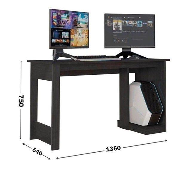 Promoção - Mesa Gamer Computador (Preta) - Apenas R$279,00
