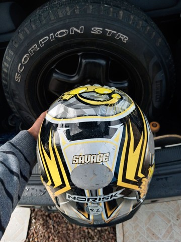 Vendo capacete norisk original sem viseira - Foto 2