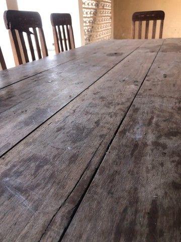 Mesa de madeira 10 lugares - Foto 3