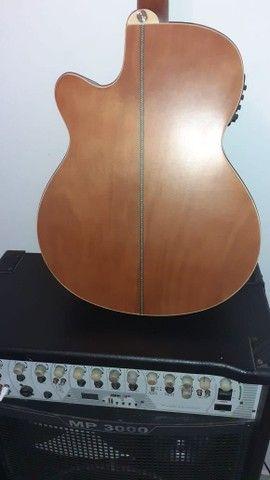 Vendoou troco  por outro  violão  folk  do mesmo  nivel ou melhor dou um volta dependendo  - Foto 3