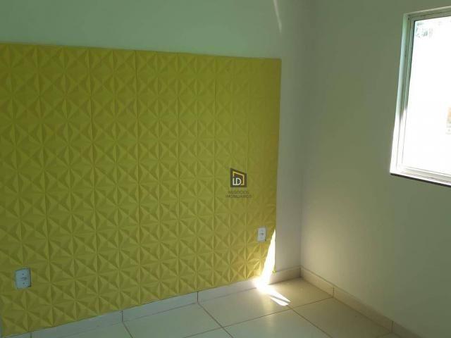 Casa com 2 dormitórios à venda, 91 m² por R$ 195.000 - São Simão - Várzea Grande/MT - Foto 3