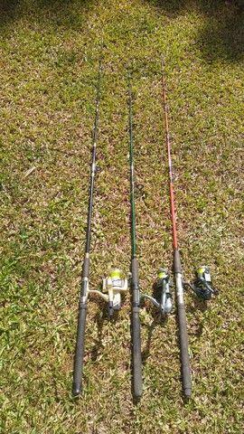 Varas de pesca. - Foto 4