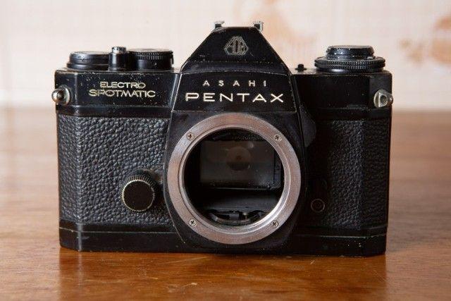 Kit 3 Cameras E 6 Lentes Pentax + Acessórios - Foto 6