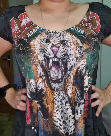 Camiseta folgadinha cavalera  - Foto 3
