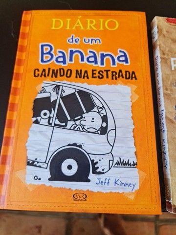 Box diário de um banana + 3 livros da coleção  - Foto 5