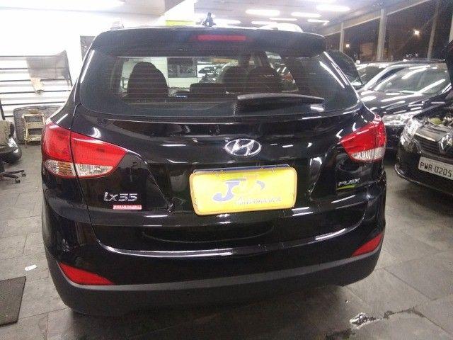 Hyundai IX35 GLS 2.0 16v Flex Autom Completo Couro DVD 2019 Preto - Foto 10