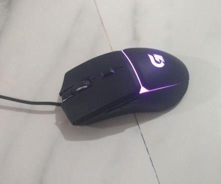 mouse gamer fortek g 7200 dpi 4 cores (seminovo) - Foto 3