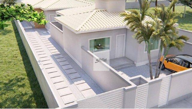 Excelente casa linear com 3 dormitórios à venda, 70 m² por R$ 310.000 - Enseada das Gaivot - Foto 4