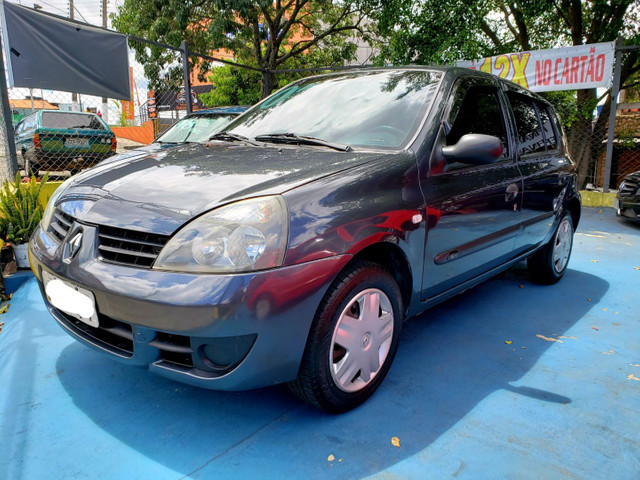 Clio hatch 1.0 4portas- 2007 - Flex - Revisado!! - Foto 3