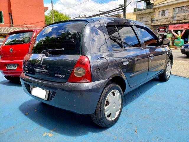 Clio hatch 1.0 4portas- 2007 - Flex - Revisado!! - Foto 6