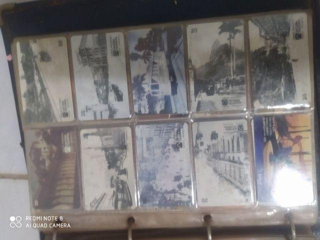 Coleção de cartão
