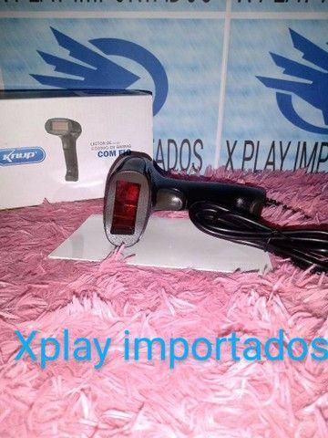 LEITOR DE CÓDIGO DE BARRAS COM FIO  - Foto 2