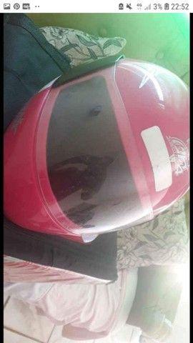 Vendo capacete rosa  - Foto 3
