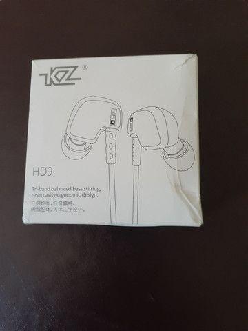 Fone In Ear KZ acoustics HD9 - Foto 4