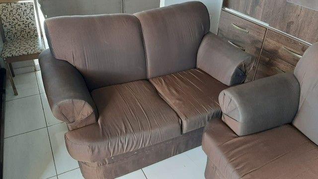 Sofá de 2 e 3 lugares ! Entrega gratis  - Foto 4