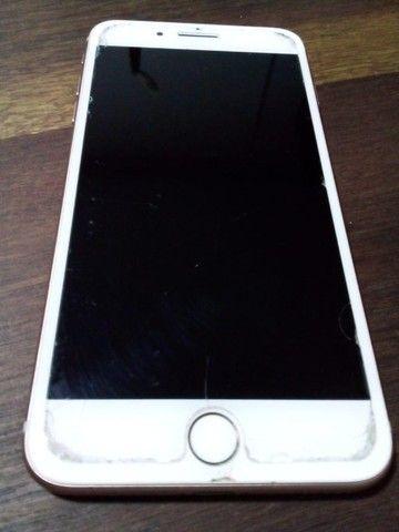 iPhone 8 Plus 256GB Rosê Gold - Foto 2