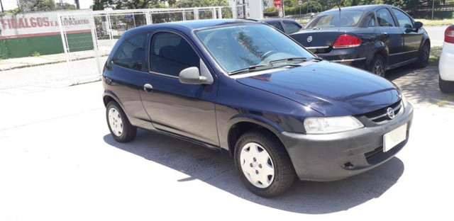 Chevrolet Celta 1.0 8V 2004 Azul Confira ! - Foto 2