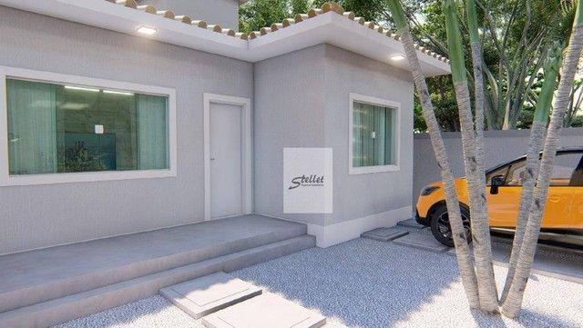 Excelente casa linear com 3 dormitórios à venda, 70 m² por R$ 310.000 - Enseada das Gaivot - Foto 5