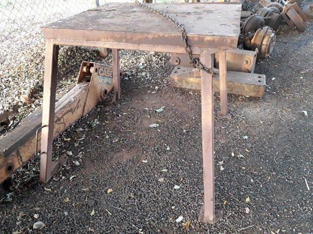 Capota toldo original da Retro Escavadeira Case 580H  - Foto 3