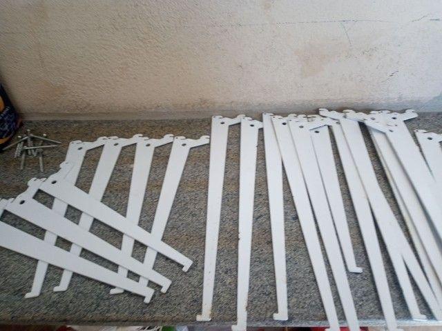 Cremalheira com suporte de ferro - Foto 3