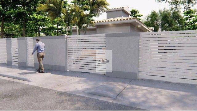 Excelente casa linear com 3 dormitórios à venda, 70 m² por R$ 310.000 - Enseada das Gaivot - Foto 2