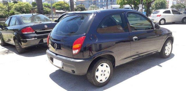 Chevrolet Celta 1.0 8V 2004 Azul Confira ! - Foto 3