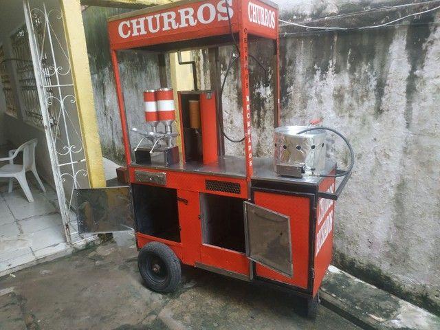 CARROCINHA DE CHURROS - Foto 5