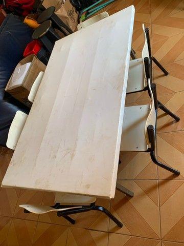 Mesa infantil p refeitorio - Foto 3