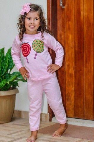 Pijama em moletinho bem quentinho ATACADO ou VAREJO  - Foto 5